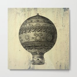 vintage air balloon Metal Print