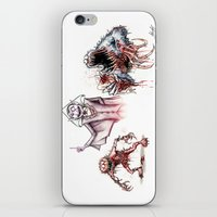 muppets iPhone & iPod Skins featuring Horror Muppets by The Art of Austen Mengler