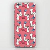 sylveon iPhone & iPod Skins featuring Sylveon Princess (pattern) by Papa-Paparazzi