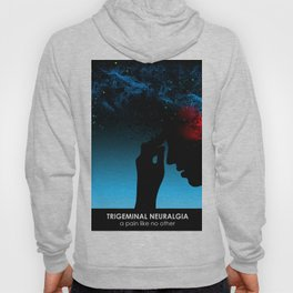 100% royalties donated to TNA Facial Pain Association - (silhouette) Hoody