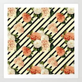 Chrysanthemum Rain Art Print