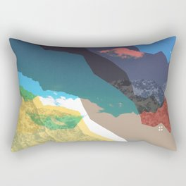 Experiment am Berg 32 Rectangular Pillow