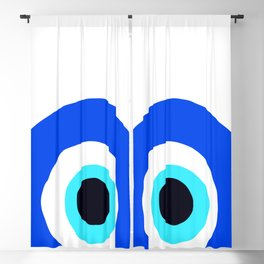 Evil Eye Talisman Lucky Charm Blackout Curtain