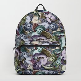 Renaissance Cherub Toss in Jewel Tones Backpack