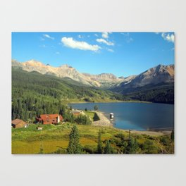 American Swiss Canvas Print