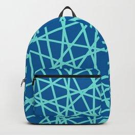 Lazer Dance Blue Backpack