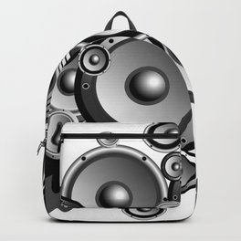Abstract music illustration Backpack