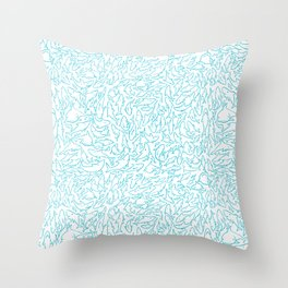 Sharks! Throw Pillow