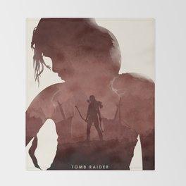 Tomb Raider (II) Throw Blanket