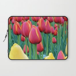 Tulips Red and Yellow Laptop Sleeve