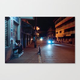 Una Noche Tranquila En Honduras Canvas Print