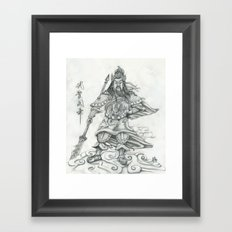 Gwan Gong Framed Art Print