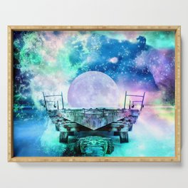 fantasy moon Serving Tray
