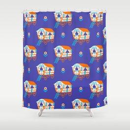 Vardo Pattern Shower Curtain