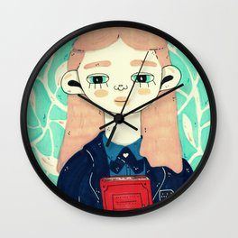 rory gilmore Wall Clock