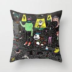 buenos deseos Throw Pillow