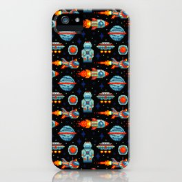 Video Games Pattern | Gaming Console Computer Play iPhone Case