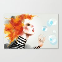 pin up Canvas Prints featuring Pin by Dnzsea