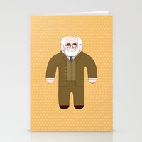 freud Stationery Cards featuring Sigmund Freud by Late Greats by Chen Reichert