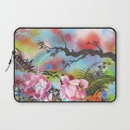 Pink Peonies Street Style Laptop Sleeve