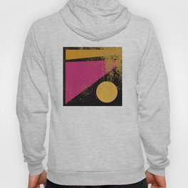 geometric sunset Hoody