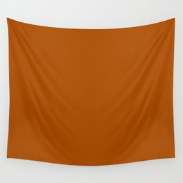 Burnt Sienna Wall Tapestry