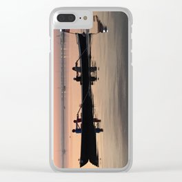 Morning Row in Charleston Clear iPhone Case