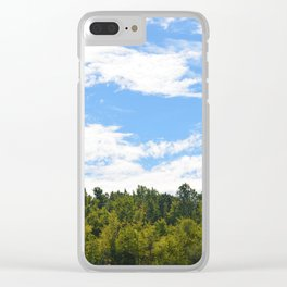 The Trees Above Clear iPhone Case