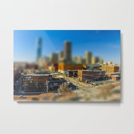 Downtown OKC by Monique Ortman Metal Print