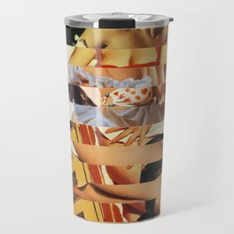 Glitch Pin-Up Redux: Vanessa Travel Mug