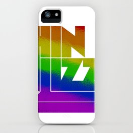 Thin Lizzy Tshirt Graphic T-Shirt iPhone Case