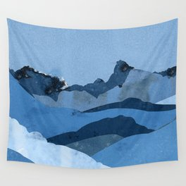 Mountain X Wall Tapestry