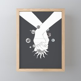 Everything Revolves Around Us II Framed Mini Art Print