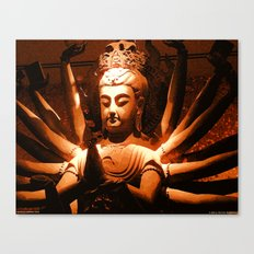durga, indian goddess Canvas Print