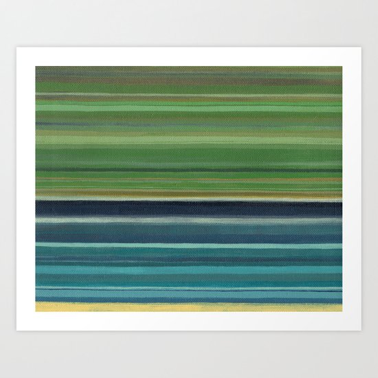 Just Stripes Art Print