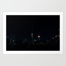 Kuwait Cityscape/Night Art Print