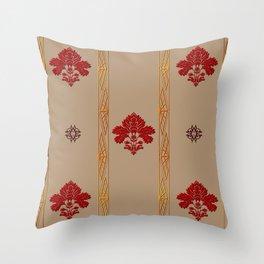 Chic Classique Art Deco Havana Gold Throw Pillow