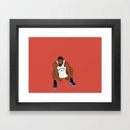 The Shot Framed Art Print
