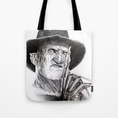 Freddy krueger nightmare on elm street Tote Bag