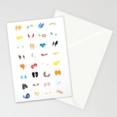 Different Eyes  Stationery Cards