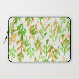 180726 Abstract Leaves Botanical 5|Botanical Illustrations Laptop Sleeve