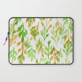 180726 Abstract Leaves Botanical 5 Botanical Illustrations Laptop Sleeve