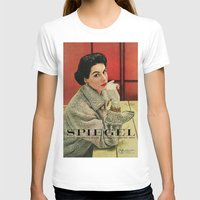 1953 Fall/Winter Catalog X-LARGE White Womens Fitted Tee