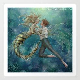 ChloNath - By The Sea Art Print