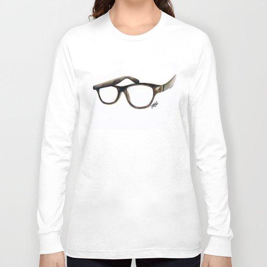Hipster's Paradox Long Sleeve T-shirt