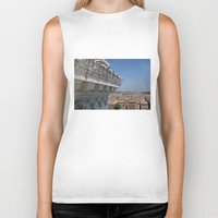 rome Biker Tanks featuring Rome by AntWoman