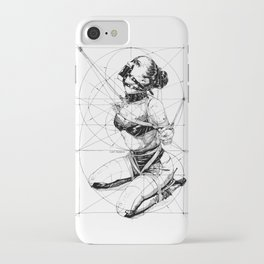 Restrained In Geometry. ©Yury Fadeev iPhone Case