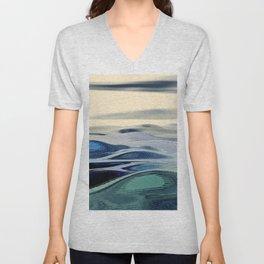 Abstract Landscape Unisex V-Neck