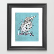 Halcyon Framed Art Print
