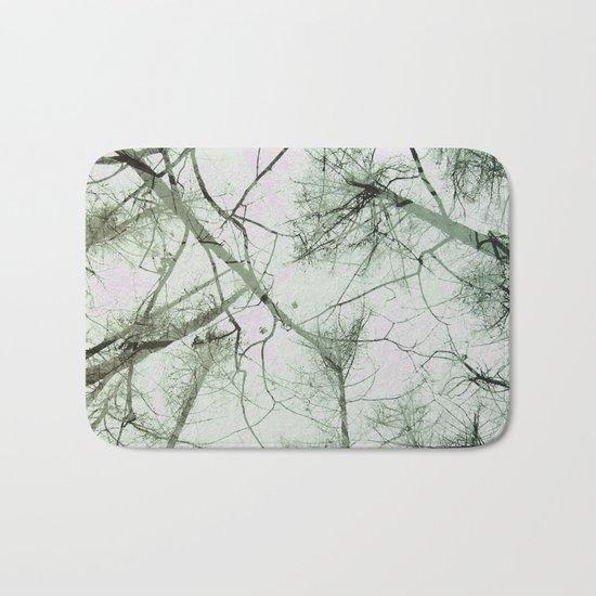 STRANGE TREES Bath Mat